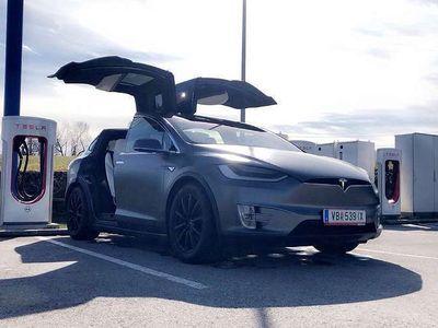 gebraucht Tesla Model X P90 D Signature Edition Suc free 7 Sitze SUV / Geländewagen