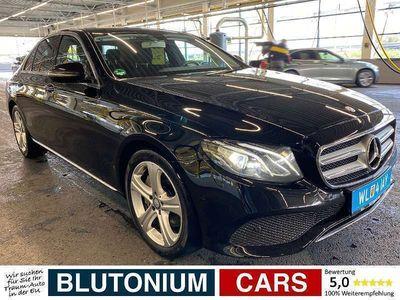 gebraucht Mercedes E350 E-KlasseAvantgarde Aut. 9G-Tronic LED NAVI SHZ CAM Limousine
