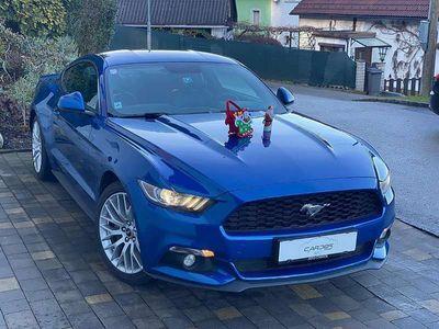 gebraucht Ford Mustang Herstellergarantie bis 10.2021 // 2.3 Ecoboost Sportwagen / Coupé