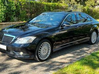 gebraucht Mercedes S500 lang 4MATIC AMG OPTIK