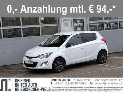 gebraucht Hyundai i20 1,25 Go*Klima*Bluetooth*Tempomat*8-fach*uvm* Limousine