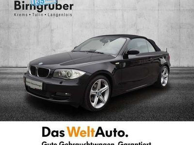 gebraucht BMW 120 Cabriolet i Österreich-Paket