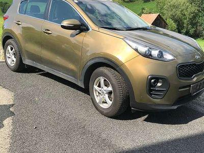 gebraucht Kia Sportage 1,7 CRDI ISG Silber SUV / Geländewagen