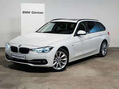 gebraucht BMW 320 3er-Reihe d xDrive Touring Sport Line Aut. Kombi / Family Van