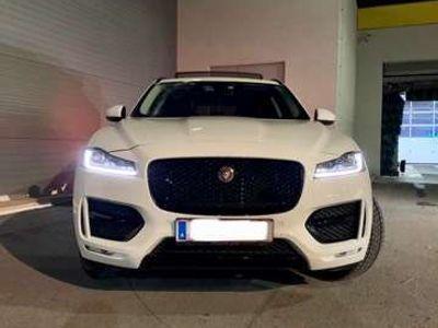gebraucht Jaguar F-Pace 25d AWD Aut. R-Sport *. Garantie*bis März 2021