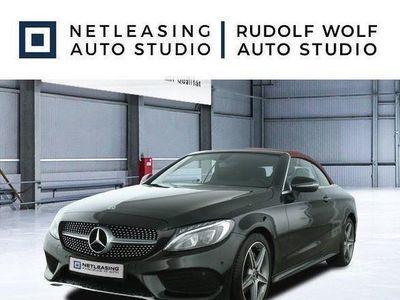 brugt Mercedes C180 Cabrio AMG+Cabrio Komf.+Navi+LED Highp+18'