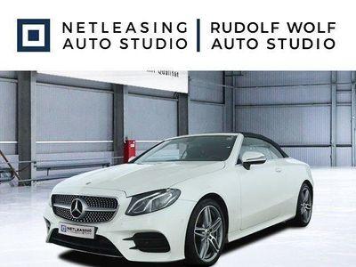 brugt Mercedes E220 Cabrio DESIGNO AMG EXT. AMG INT. LEDER Klima