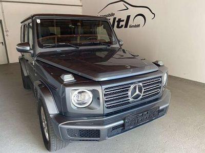 gebraucht Mercedes G500 4MATIC Aut. WIDESCREEN DISTRONIC MULTIBEAM 1.HAND!