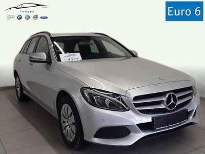 gebraucht Mercedes C200 C-Klassed T 7G Navi LED High Performance SHZ Aut. Business PLUS Kombi / Family Van