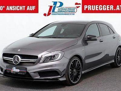 gebraucht Mercedes A45 AMG 4MATIC Performance Sitze Sportauspuff
