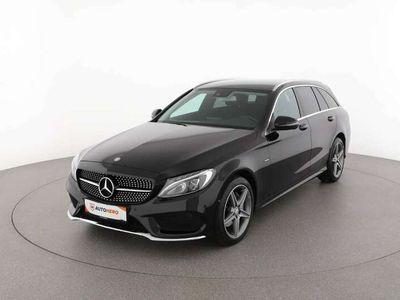 gebraucht Mercedes C200 d G-Tronic Plus T-Modell AMG-Line