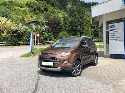 gebraucht Ford Ecosport 1,5 TDCi Titanium AHV, Dachträger, BEST PREIS