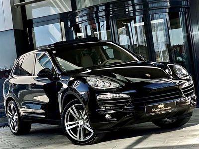 gebraucht Porsche Cayenne S 4,1 Diesel V8 382PS #EXCLUSIVE-DESIGN #2.BESITZ