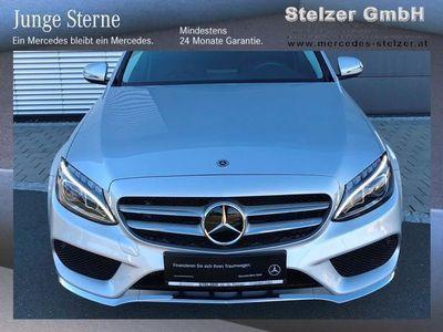 used Mercedes C220 d AMG Line Aut. DIS, ILS, NAV, SHZ,