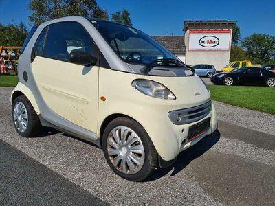 gebraucht Smart ForTwo Coupé sparsamer 55PS Benziner Klein-/ Kompaktwagen