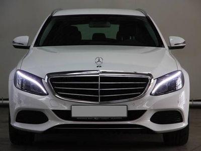 gebraucht Mercedes C220 d T Aut. Exclusive Ext., Avantgarde Int. VOLLAUSST
