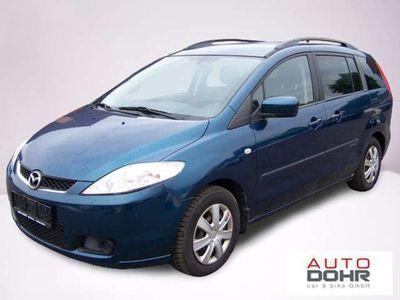 gebraucht Mazda 5 2,0 CD110 TX Kombi / Family Van