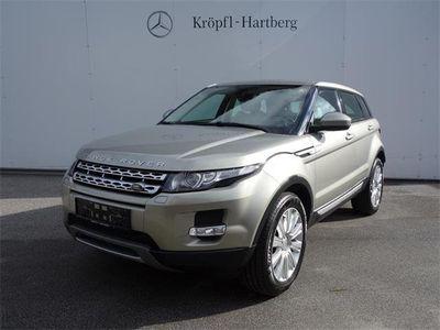 gebraucht Land Rover Range Rover evoque Prestige 2,2 TD4 Aut. SUV / Geländewagen,