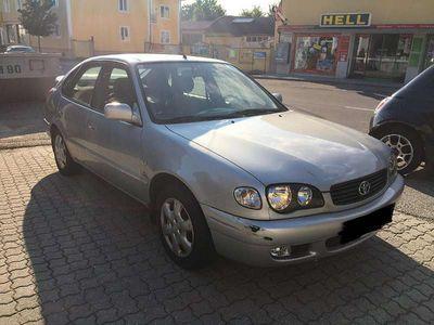 used Toyota Corolla 2.0 D 4 D, Klima, TOP ZUSTAND, Serviceheft Limousine,
