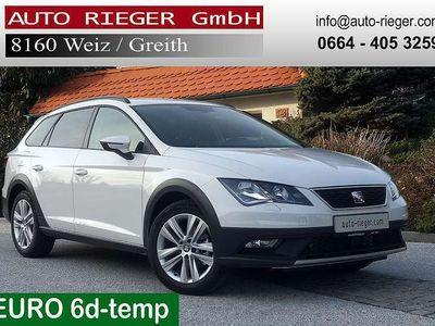 gebraucht Seat Leon X-Perience ST 1,6 TDI 4Drive AHK Sitzheizung Keyless Kombi / Family Van