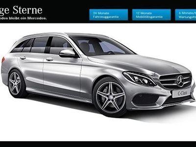 gebraucht Mercedes C250 d T AMG Line 4MATIC Aut.