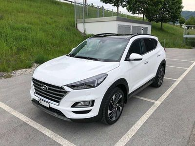 gebraucht Hyundai Tucson 1.6 TGDI 4WD DCT (Vertex) SUV / Geländewagen