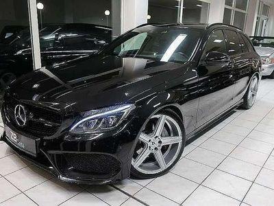 gebraucht Mercedes C220 T BlueTEC AMG Line A-Edition Aut.