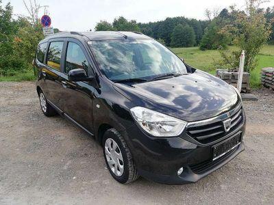 gebraucht Dacia Lodgy 1,2TCE Ambiance Navi Klima Tempomat Kombi / Family Van