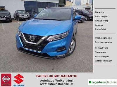gebraucht Nissan Qashqai Acenta 1,3 6MT GARANTIE BIS 2024 SUV / Geländewagen