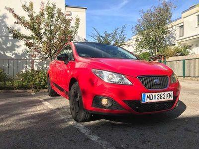 gebraucht Seat Ibiza SportCoupé GT 1,4 Rot mit Carbondach Klein-/ Kompaktwagen