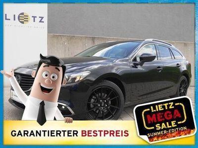 gebraucht Mazda 6 Sport Combi CD175 Revolution Top SDLeder weiss