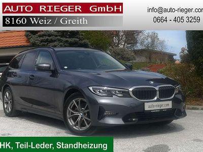 gebraucht BMW 320 3er-Reihe d xDrive Touring Sportline 48 V Mild-Hybrid Aut. AHK LE Kombi / Family Van