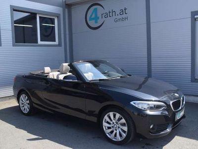 gebraucht BMW 220 2er-Reihe d Cabrio AHK/NAVI/XENON !!! MEGA-PREIS !!! Cabrio / Roadster