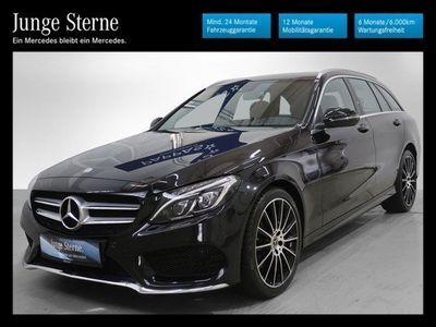 gebraucht Mercedes C220 d T 4MATIC AMG Line Aut.