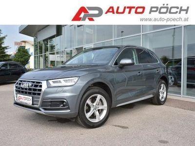 gebraucht Audi Q5 2,0TDI quatt sport S-tronic - LED / AHK/ TOP