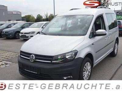 gebraucht VW Caddy 2,0 TDI Trendline Klima SHZ Tempomat P Kombi / Family Van,