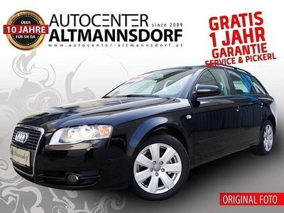 gebraucht Audi A4 AVANT 1,9 TDI*NAVI*GARANTIE*SOFORT-KREDIT*MOD2009