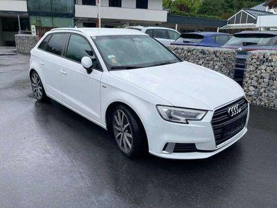 gebraucht Audi A3 Sportback Sline 1.6 TDI