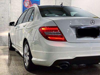 gebraucht Mercedes C200 C-KlasseAMG Packet ab. Werk Limousine