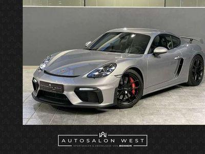 gebraucht Porsche Cayman GT4 *CLUBSPORT*NEUWAGENZUSTAND*