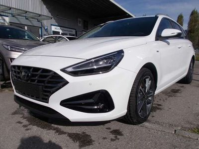 gebraucht Hyundai i30 CW 1,5 T-GDI 6M 48V Hybrid NAVI LED