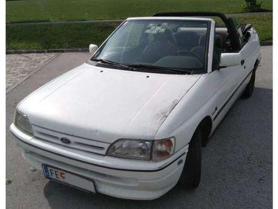 gebraucht Ford Escort Cabriolet Escort Cabrio 1.8/75 / Roadster,