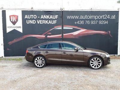 gebraucht Audi A5 Sportback 2,0 TDI DPF wenig Kilometer, neues Pickerl §57 Limousine