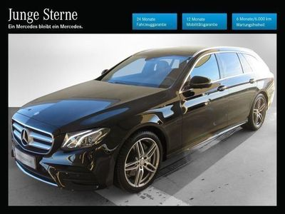 gebraucht Mercedes E220 T Aut. *AMG-Line*Comand*LED*Panoramadach*