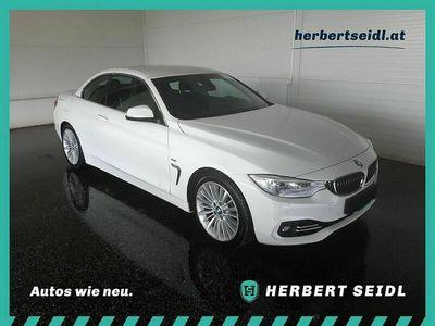 gebraucht BMW 218 4er Cabrio 425d Cabrio Österreich-Paket Aut. *HEAD-UP / NAVI / XENON*,PS, 2 Türen, Automatik