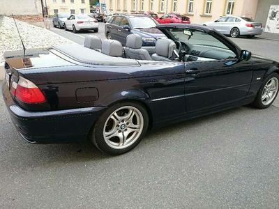 gebraucht BMW 318 Cabriolet 3er-Reihe i Cabrio / Roadster