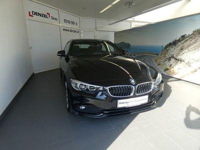 gebraucht BMW 418 Gran Coupé 4er-Reihe d Sport Line Aut. Sportwagen / Coupé