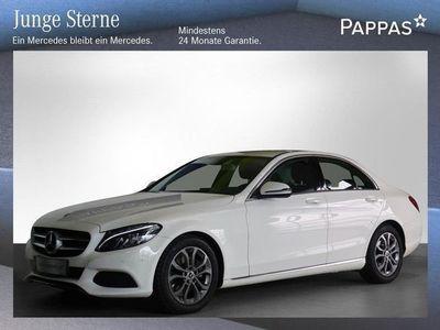 gebraucht Mercedes C200 C-Klassed Avantgarde Aut. Limousine,