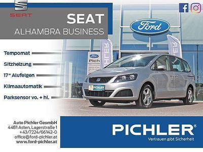 gebraucht Seat Alhambra Business 2,0 TDI CR TEMP./PDC/KLIMAAUT. Kombi / Family Van