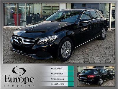 gebraucht Mercedes C220 T BT Avantgarde / LED / Navi / Distronic / AHK / Spieg